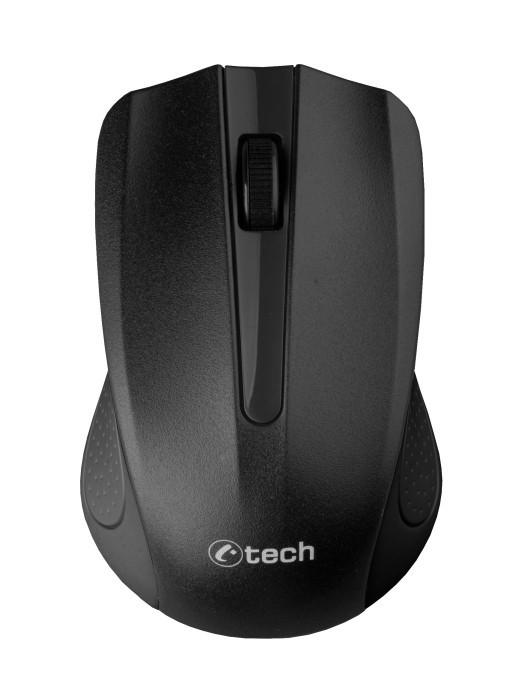 Bezdrôtové myši C-TECH WLM-01, čierna