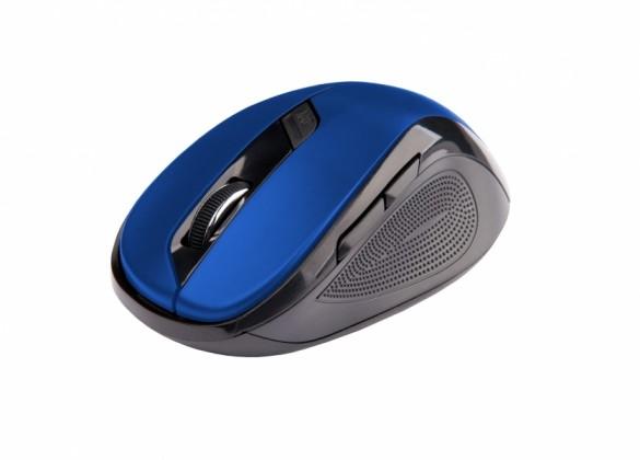 Bezdrôtové myši C-Tech WLM-02, černo-modrá WLM-02B
