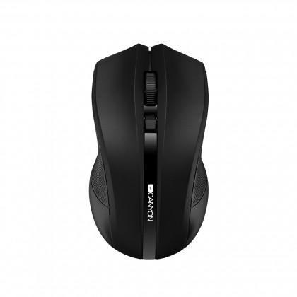 Bezdrôtové myši Canyon CNE-CMSW05B, Wireless optická myš USB, čierna