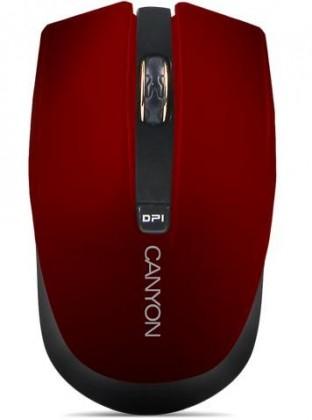 Bezdrôtové myši CANYON CNS-CMSW5R, červená