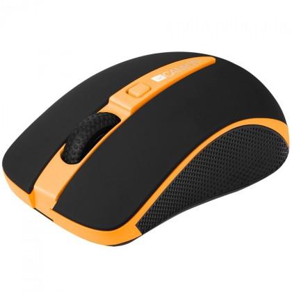 Bezdrôtové myši Canyon CNS-CMSW6 optická myš, oranžovo-čierna
