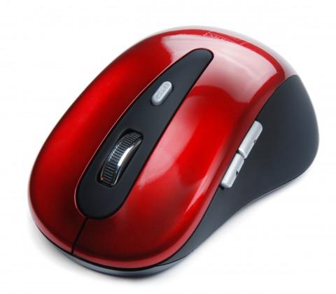Bezdrôtové myši Connect IT CI-152, červená ROZBALENO