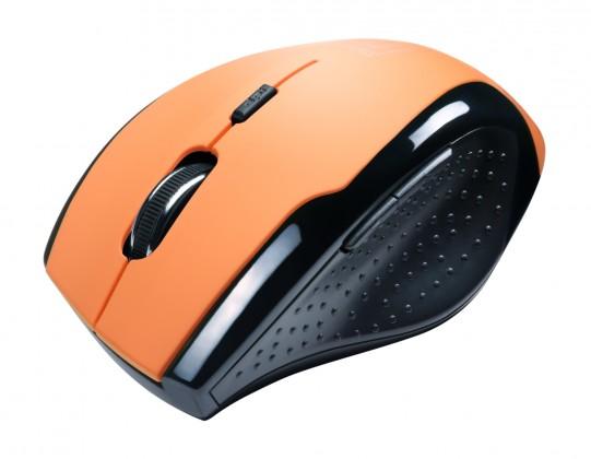 Bezdrôtové myši Connect IT CI-157, oranžová