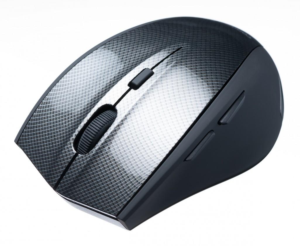 Bezdrôtové myši Connect IT CI-186, čená-strieborná
