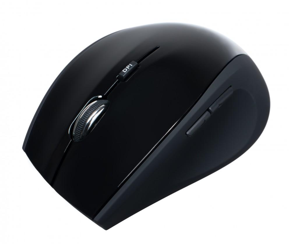Bezdrôtové myši Connect IT CI-211, čierna