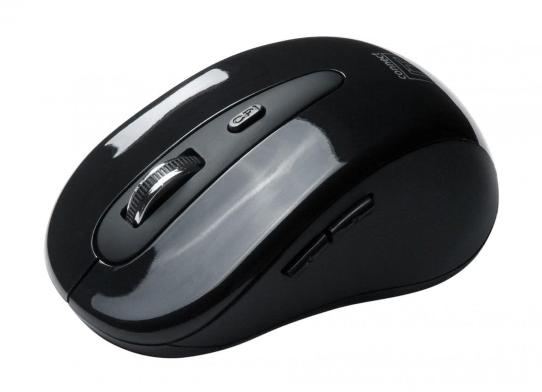 Bezdrôtové myši Connect IT CI-66, čierna