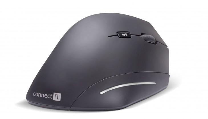 Bezdrôtové myši CONNECT IT CMO-2510, černá CMO-2510-BK