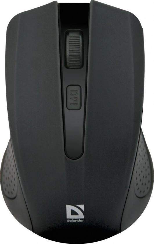 Bezdrôtové myši Defender Accura MM-935 černá 52935