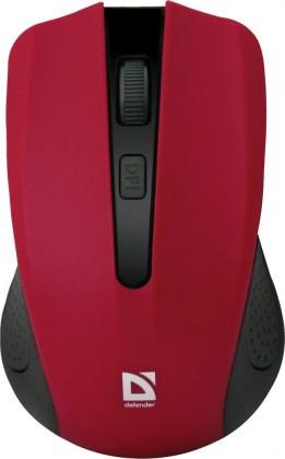 Bezdrôtové myši Defender Accura MM-935 červená 52937