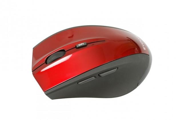 Bezdrôtové myši EVOLVEO Optical WM626, čierna-červená