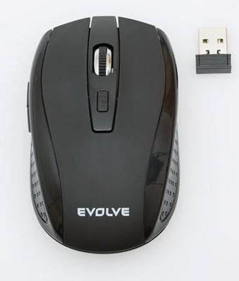 Bezdrôtové myši EVOLVEO WM-242B, čierna