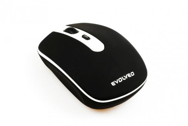 Bezdrôtové myši EVOLVEO WM-408B, čierna