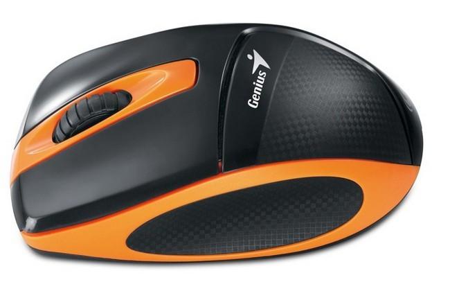 Bezdrôtové myši Genius DX-7000 bezdrôtová čiernooranžová