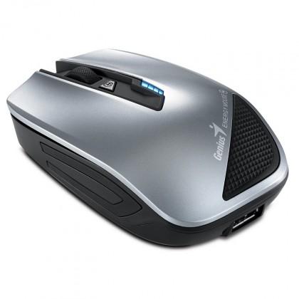 Bezdrôtové myši Genius Energy Mouse, strieborná (Power Bank 2700mAh)