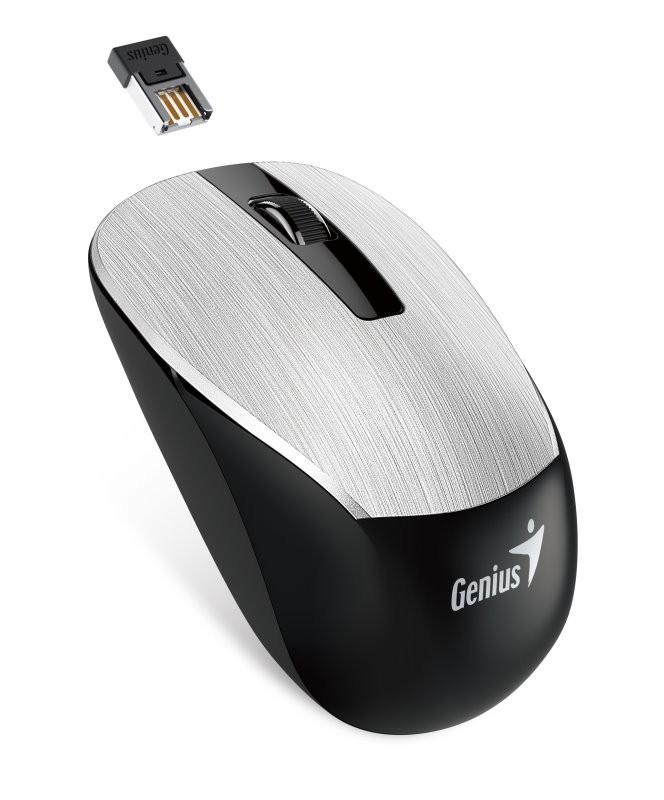 Bezdrôtové myši Genius NX-7015 (31030119105), strieborná