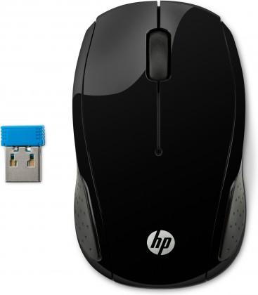 Bezdrôtové myši HP 200, černá X6W31AA#ABB