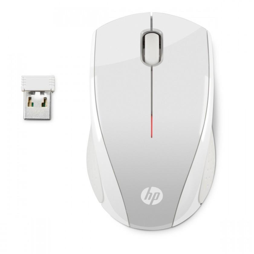 Bezdrôtové myši HP myš x3000 bezdrátová zlatá stříbrná - 2HW68AA#ABB
