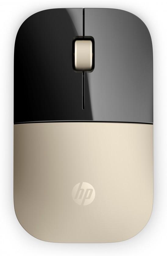 Bezdrôtové myši HP Z3700 Wireless Mouse - Gold (X7Q43AA#ABB)