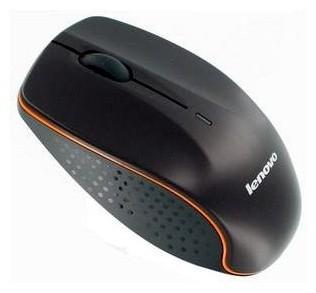 Bezdrôtové myši Lenovo Wireless N30A, čierna