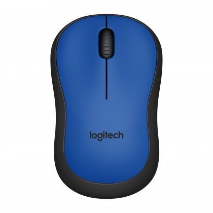 Bezdrôtové myši Logitech M220 Silent Mouse for Wireless, modrá