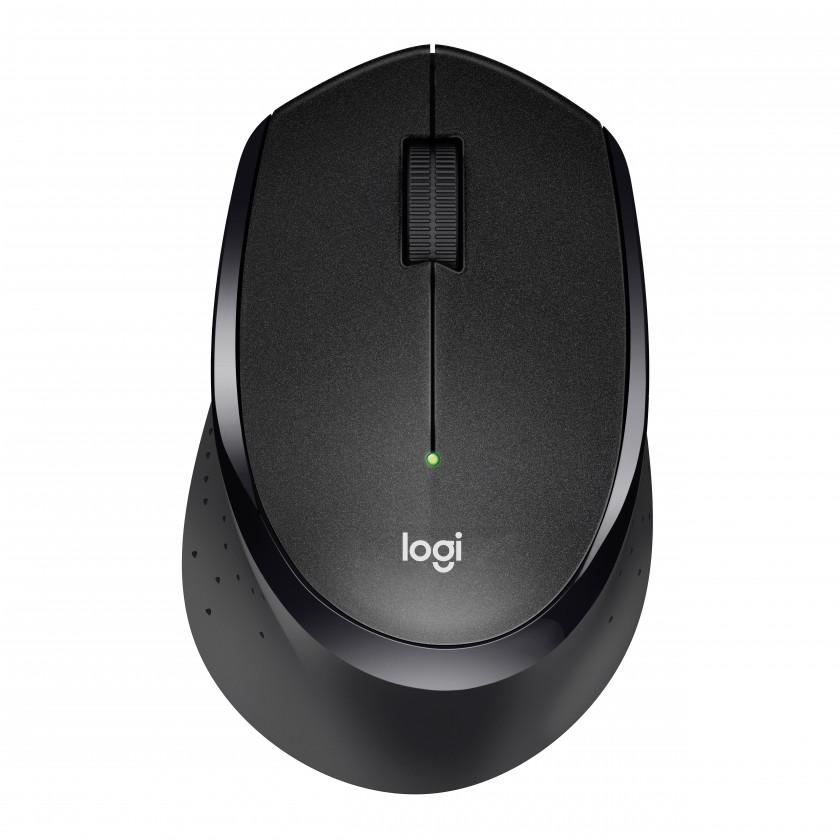 Bezdrôtové myši Logitech M330 Silent Plus, čierna