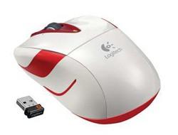 Bezdrôtové myši Logitech Wireless Mouse M525, biela