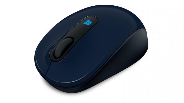 Bezdrôtové myši Microsoft Sculpt Mobile Mouse modrá