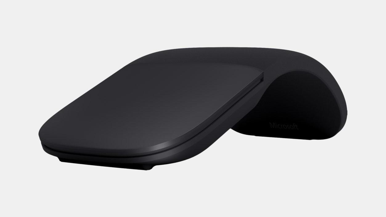 Bezdrôtové myši Microsoft Surface Arc Mouse, černá ELG-00008