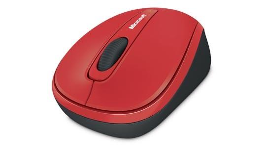 Bezdrôtové myši Microsoft Wireless Mobile Mouse 3500 červená