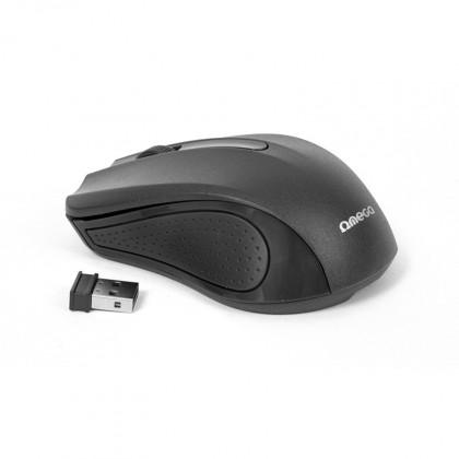 Bezdrôtové myši Myš OMEGA OM-419, bezdrôtová 2,4GHz, 1000 DPI, nano USB, čierna