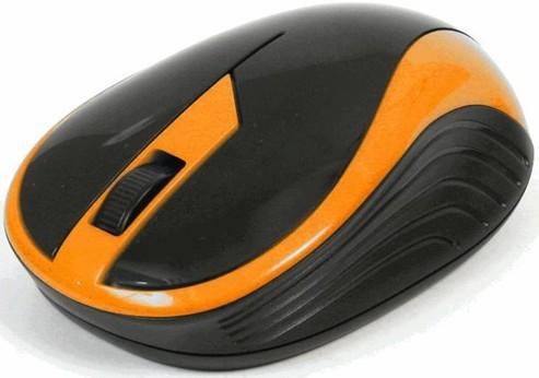 Bezdrôtové myši Omega OM-415, čierna-oranžová