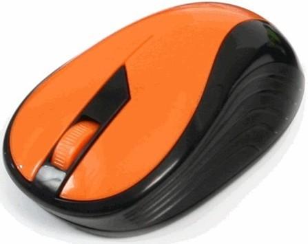 Bezdrôtové myši Omega OM-415, oranžová-čierna