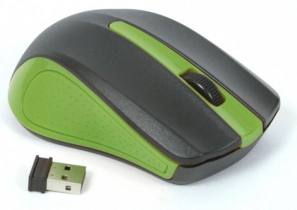 Bezdrôtové myši Omega OM-419, zelená