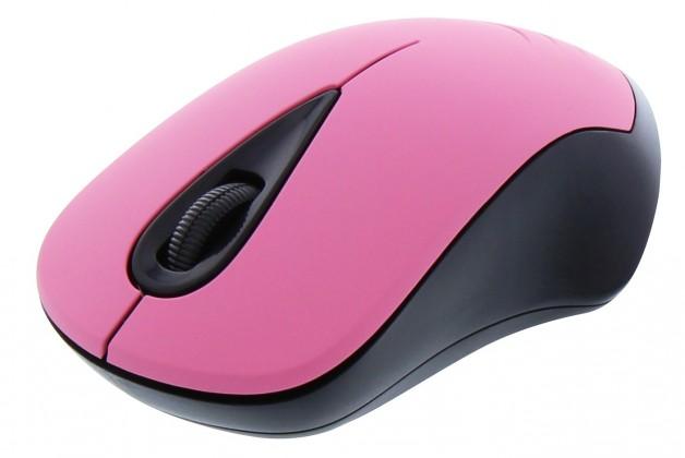 Bezdrôtové myši TnB FANCY, růžová