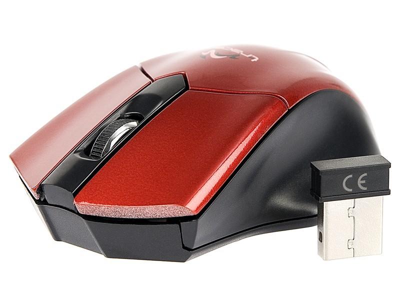 Bezdrôtové myši Tracer Fiorano RF TRM-169W, červená