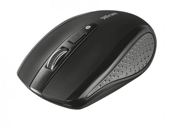 Bezdrôtové myši TRUST Siano bluetooth myš, čierna (20403)