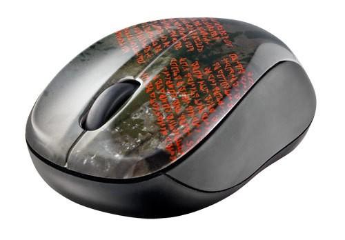Bezdrôtové myši Trust Vivy Wireless Mini Mouse, čierna
