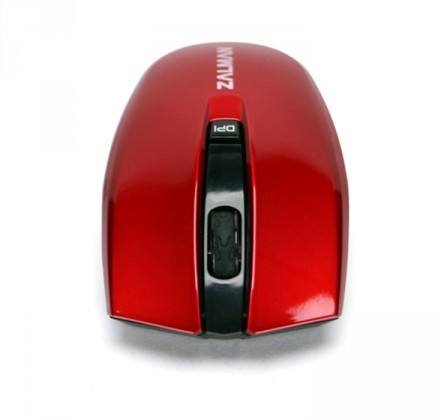Bezdrôtové myši Zalman ZM-M520W, červená