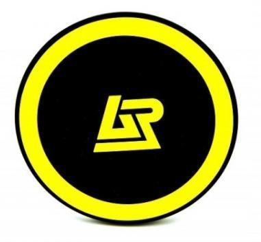 Bezdrôtové nabíjačky Apei Qi P1 Wireless Charging Pad (Black / Yellow)