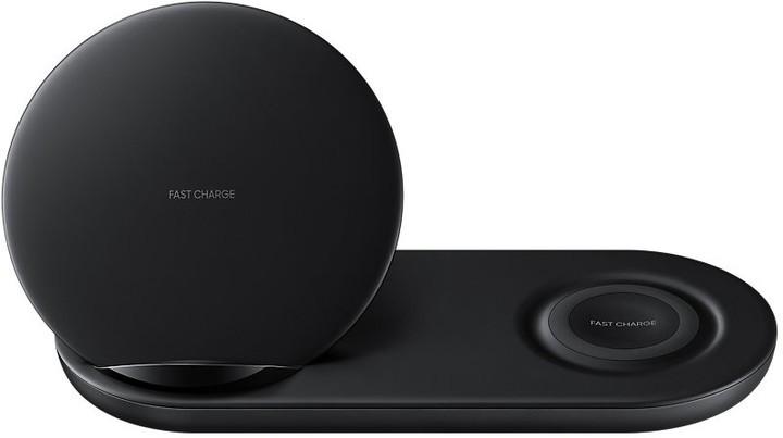 Bezdrôtové nabíjačky Duálna nabíjacia stanica Samsung pre bezdrôtové nab., čierna