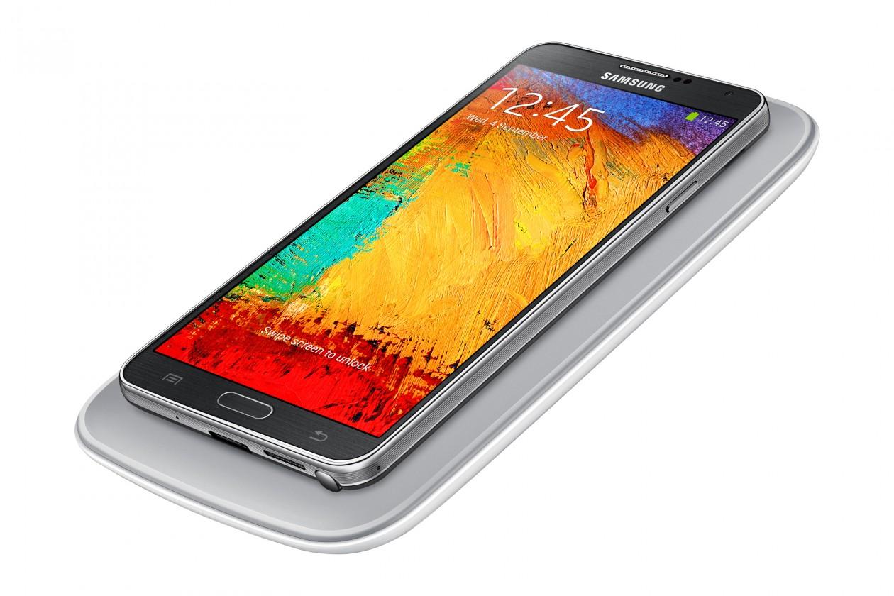 Bezdrôtové nabíjačky Samsung sada pre bezdrátové nabíjení Galaxy Note 3, strieborná