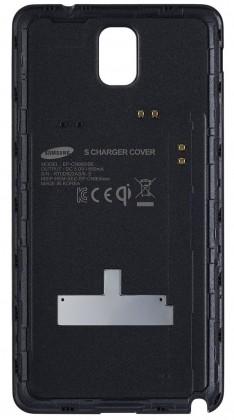 Bezdrôtové nabíjačky Samsung zadný kryt(bezdrát. nabíjanie) pre Galaxy Note 3, čierna