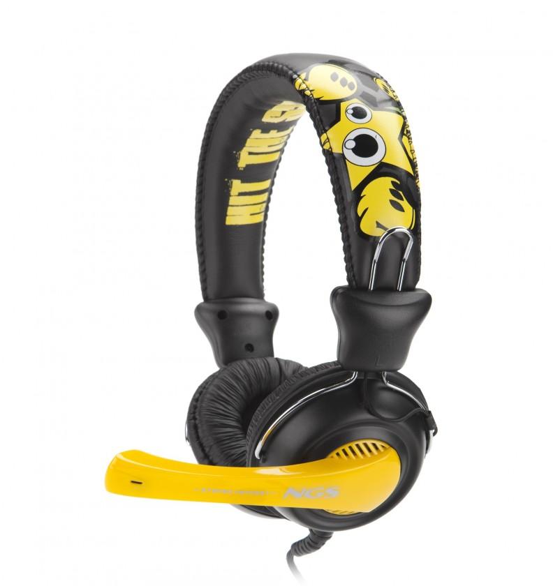 Bezdrôtové NGS headset HIT THE SOUND