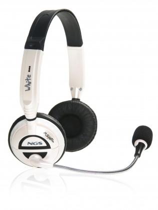 Bezdrôtové NGS headset MSX6 PRO WHITE