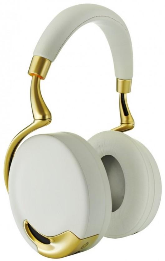 Bezdrôtové Parrot Zik bezdr.sluchátka s mikrofónom, dotyková, bielo-zlaté