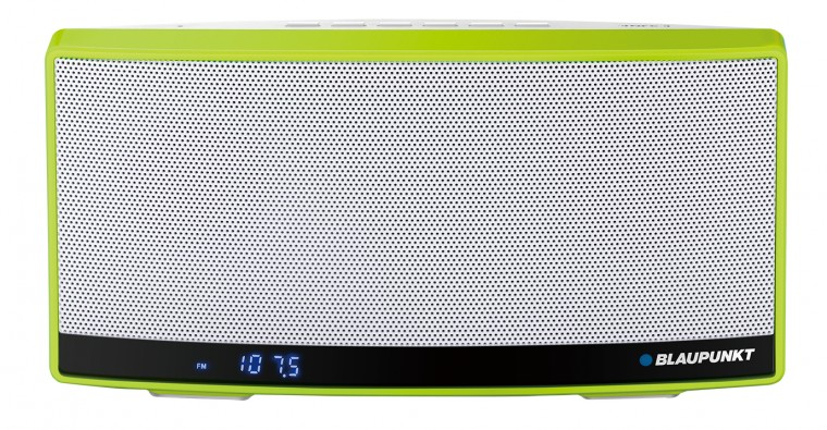 Bezdrôtové repro Blaupunkt BT10GR, biela/zelená