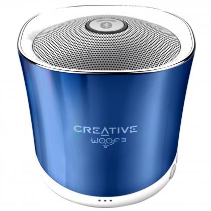Bezdrôtové repro Creative WOOF3, modrá