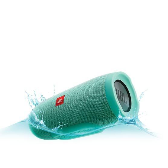 Bezdrôtové repro JBL Charge 3, modrozelená
