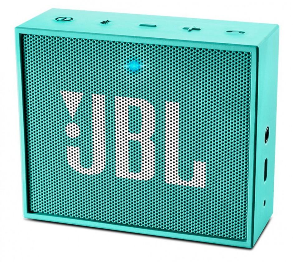 Bezdrôtové repro JBL GO tyrkysové