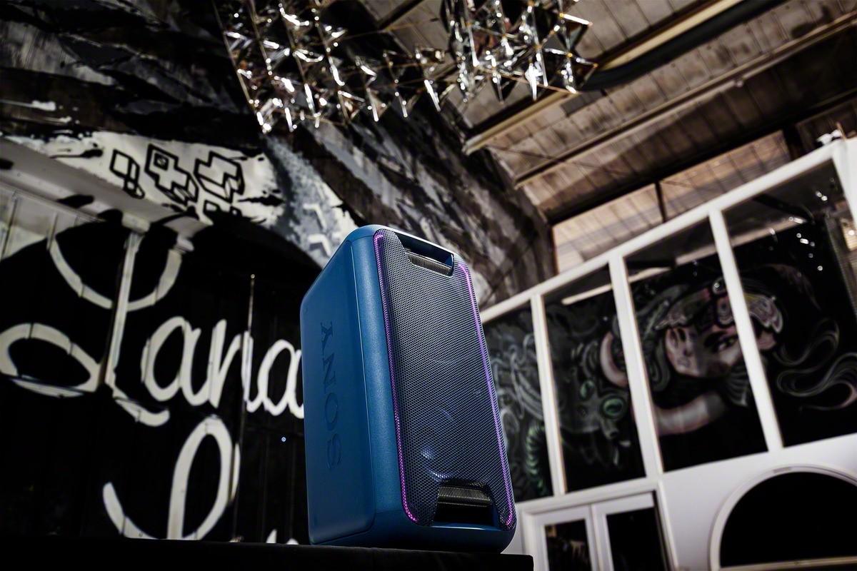 Bezdrôtové repro Party systém SONY GTK-XB5 Modrý